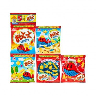 MORINAGA - Pokemon Salted Biscuit 4 pack - 50G