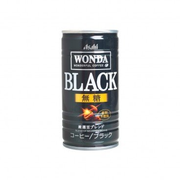 ASAHI - Wonda Black Coffee - 185G