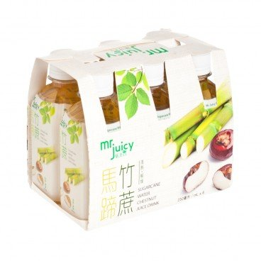 MR. JUICY - Sugarcane Water Chestnut Juice Drink - 250MLX6