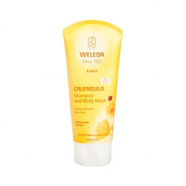 WELEDA - Calendula Shampoo And Body Wash - 200ML