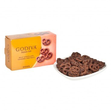 GODIVA - Milk Chocolate Covered Mini Pretzels - 71G