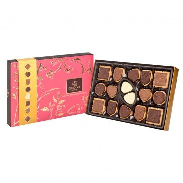 GODIVA - Assorted Prestige Biscuit Gift Box L - 32'S