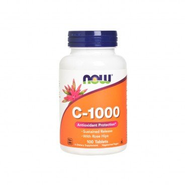 NOW FOODS - C 1000 Veg Capsules - 100'S