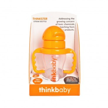 THINKBABY - The Thinkster Straw Bottle oragne - 255G