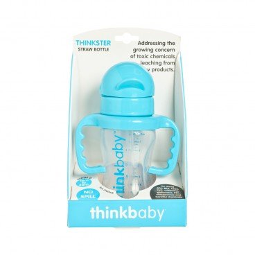 THINKBABY - The Thinkster Straw Bottle lt Blue - 255G