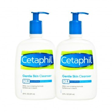 CETAPHIL(PARALLEL IMPORT) - Gentle Skin Cleanser Set - 591MLX2