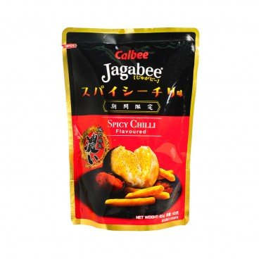 CALBEE - Jagabee Potato Chips spicy Chili Expiry Date 21 2 - 63G