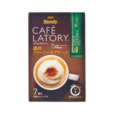 AGF - Cafe Latory Rich Cafe Creamy Cappuccino - 7'S