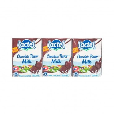 LACTEL - Chocolate Milk Bbd 08 12 2019 - 200MLX3
