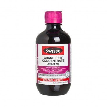SWISSE(ORIGINAL LICENSED) - Cranberry Concentrate 90000 mg - 300ML