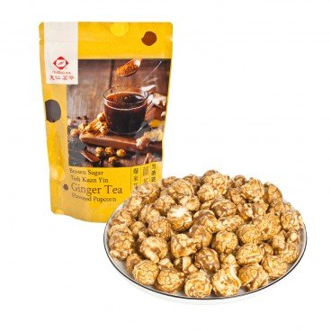 TENREN TEA - Popcorn brown Sugar Tieh Kuan Yin Ginger Tea - 60G