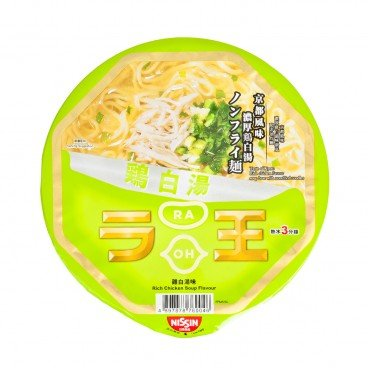 NISSIN - Bowl Noodle raoh rich Chicken Soup Flavor - 96G