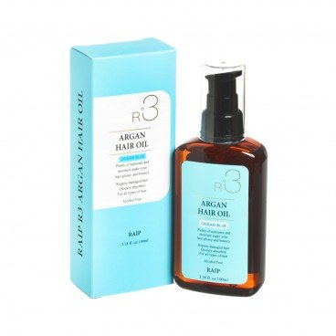 RAIP - R 6 Argan Hair Oil Lovely ocean Blue - 100ML