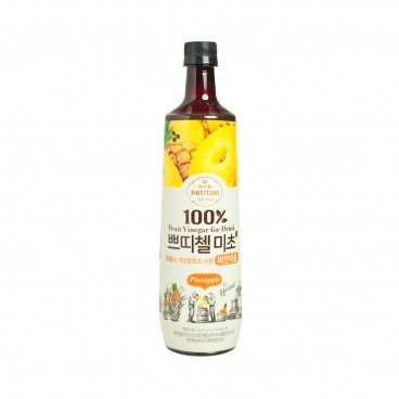 CJ - 100 Fruit Vinegar For Drink Pineapple - 900ML