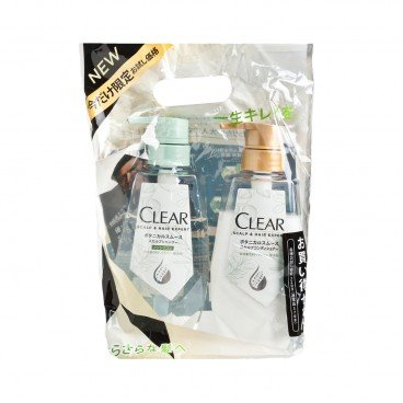 CLEAR(PARALLEL IMPORT) - Botanical Smooth Shampoo Treatment Set - 320GX2