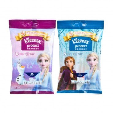 KLEENEX - Disney Frozen 2 Wipe random Cartoon - 10'S