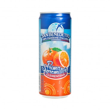 SAN BENEDETTO - Clementine Carbonated Drink - 330ML
