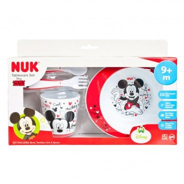 NUK - Mickey Tableware 4 pcs Set - PC