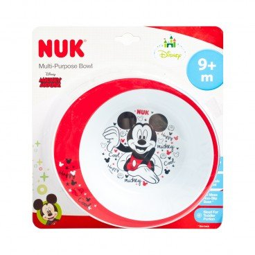 NUK - Mickey Non Slip Pp Bowl 1 pk - PC