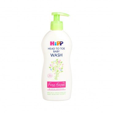 HIPP(PARALLEL IMPORT) - Head To Toe Baby Wash - 400ML