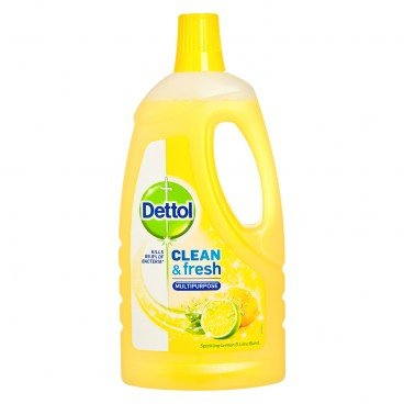 DETTOL(PARALLEL IMPORT) - Power fresh Antibacterial Multi purpose Cleaener lemon lime - 1L
