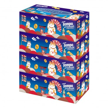 TEMPO得寶 - Facial Box Tissue neutral 2020 New Year Celebration Limited Edition - 4'S