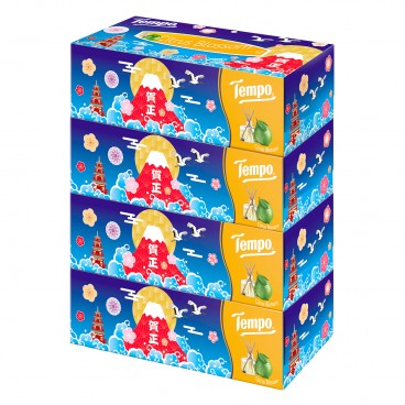 TEMPO得寶 - Facial Box Tissue citrus Blossom 2020 New Year Celebration Limited Edition - 4'S
