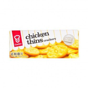 GARDEN - Chicken Thins Crackers Small - 100G