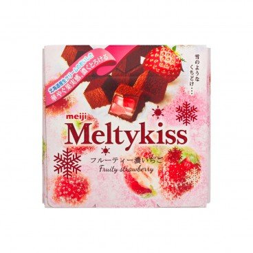 MEIJI - Melty Kiss Chocolate fruity Strawberry - 60G
