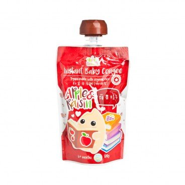 BABY BASIC - Baby Congee squeeze Pouch Apple Raisin - 120G