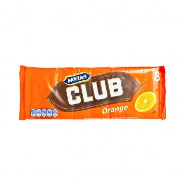 MCVITIE'S - Club Orange - 176G