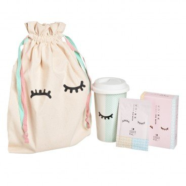 CHECKCHECKCIN - Warmest Red Bean Powder Set - SET