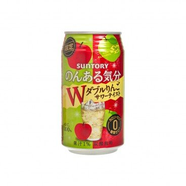 SUNTORY - Cocktail apples Alcohol free Calories free - 350ML