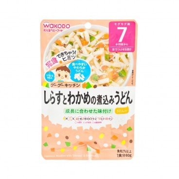 WAKODO - Japanese Noodles With Shirasu Seaweed - 80G