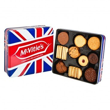 MCVITIE'S - Celebration Assortment Tin - 475G