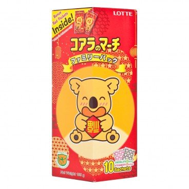 LOTTE - Koalas March chocolate Strawberry Family Pack - 195G