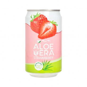 TAO TI - Strawberry Aloe Vera Drink - 310ML