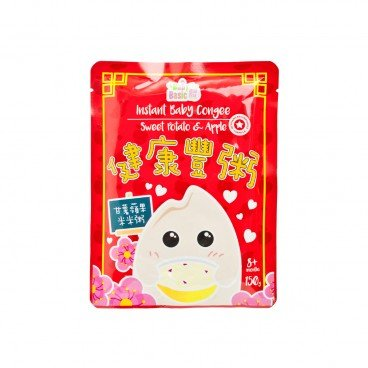 BABY BASIC - Instant Baby Congee Sweet Potato Apple - 150G