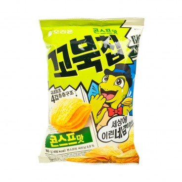 ORION - Turtle Chips sweet Corn Soup - 80G