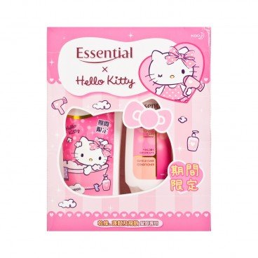 ESSENTIAL - Moisturizing Frizz Hello Kitty Limited Pack - 700ML+200MLX2