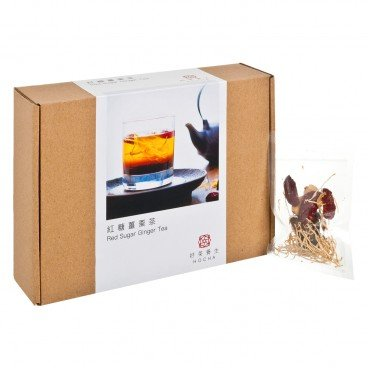 HO CHA - Red Sugar Ginger Tea refill Box - 10'S