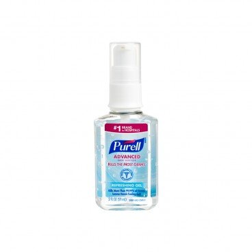 PURELL - Advanced Hand Sanitizer Refreshing Gel personal Pump Bottle - 59ML