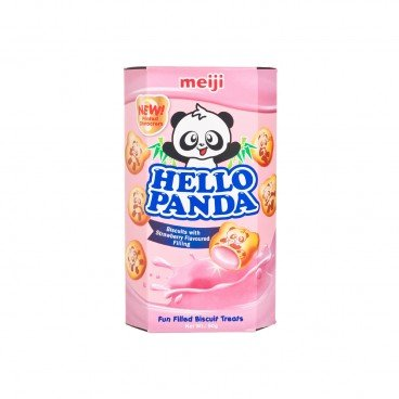 MEIJI - Hellopanda strawberry Cream - 50G