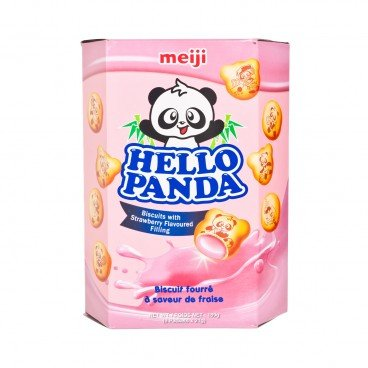 MEIJI - Hello Panda strawberry Giant - 189G