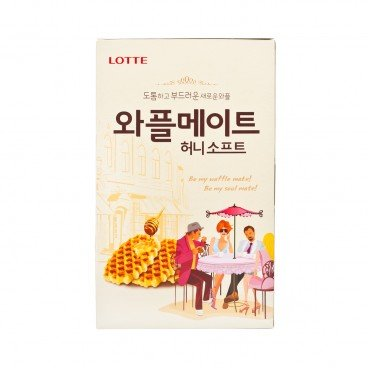 LOTTE - Waffle Biscuit honey - 144G