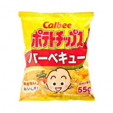 CALBEE - Potato Chips bbq - 55G