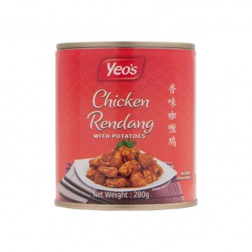 YEO'S - Chicken Rendang With Ptotatoes - 280G