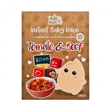 BABY BASIC - Instant Baby Udon tomoto Beef - 150GX2