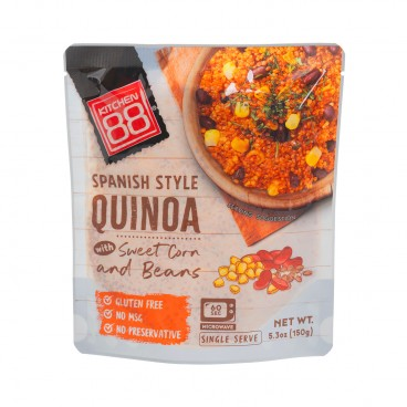 KITCHEN 88 - Instant Quinoa spanish Flavor - 150G
