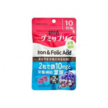 UHA - Gummy iron Folic Acid - 20'S